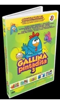 Gallina Pintadita 3 Dvd Original Completo En Español Latino!