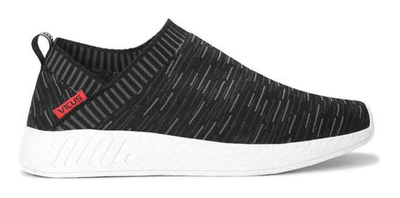 Vicus Loose Flyknit Gris Negro