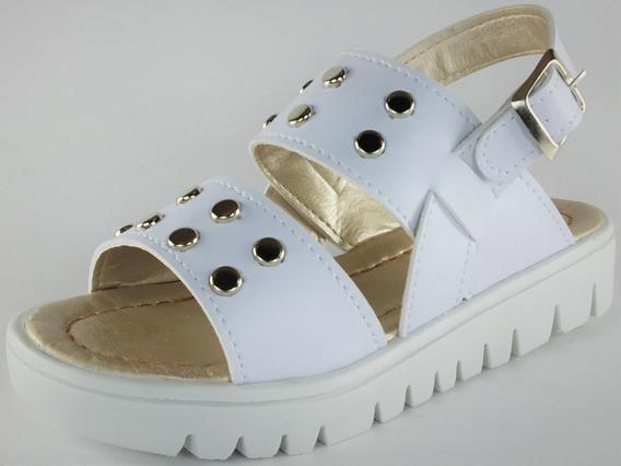 Sandalias Sueco Niñas Tachas De Vestir Moda 27-34 Ref 351