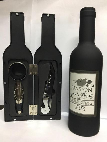 Set De Vino Botella Chica // Tres Elementos