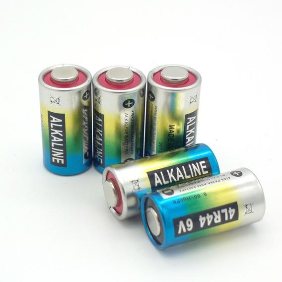 6 Bateria Pilha 4lr44 6v Coleira Antilatido 476a A544x Px28a