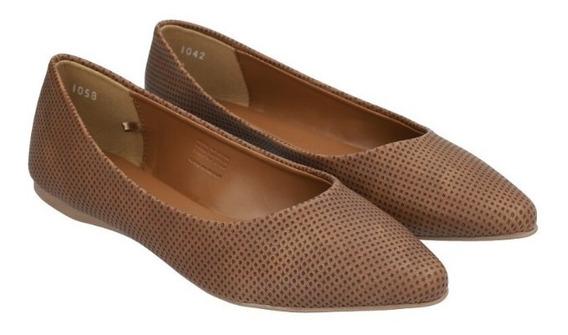 Zapato Plano Puntal Básico De Mujer C&a