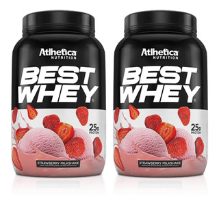 Kit 2x Best Whey Atlhetica Nutrition 900 Gramas