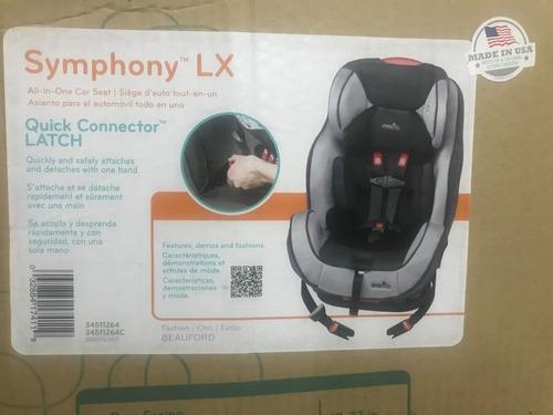 Butaca Para Auto Bebe Symphony Lx 0 A 50 Kg