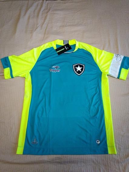 Camiseta De Arquero Topper Del Botafogo #1 Jefferson