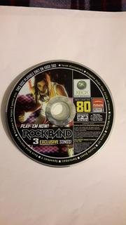 Rock Band 3, Xbox 360