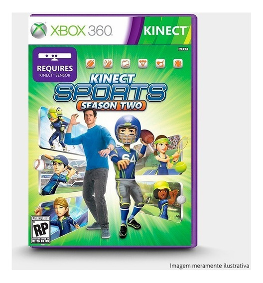 Kinect Sports Season Two 2 - Original Para Xbox 360 - Novo