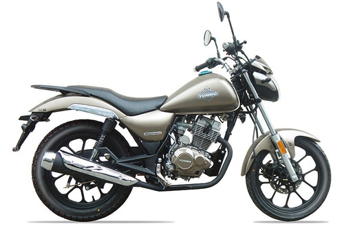 Yumbo Milestone 125 Financia En 36 Cuotas Delcar Motos®