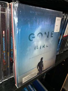 Gone Girl Perdida Blu Ray+libro Imp De Usa Vista Una Vez