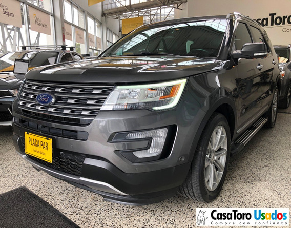 Ford Explorer At 4x4 Limited 3500cc 2017