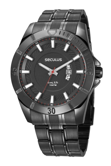 Relógio Seculus Masculino 28960gpsvpa2
