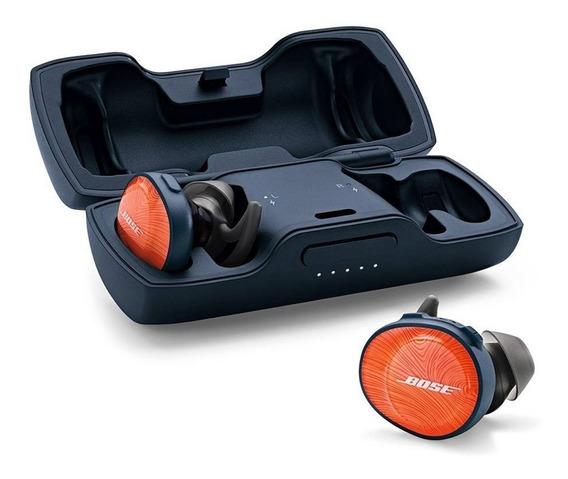 Fone De Ouvido Bose Soundsport Free Inear Bluetooth Laranja