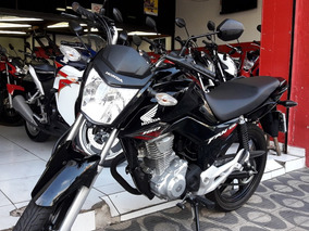 Honda Fan 160 Ano 2018 Preta Shadai Motos