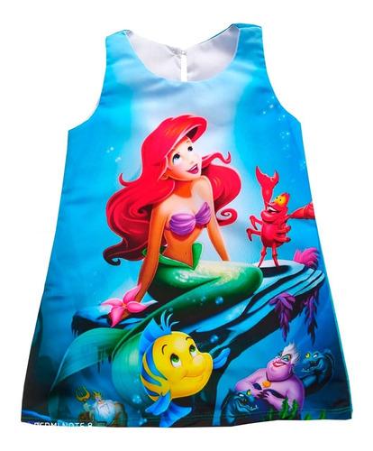 Vestidos Sirenita Ariel  - Ig