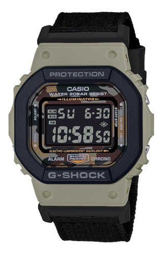 Reloj Casio G-shock Youth Dw-5610sus-5 Serie Utility Color