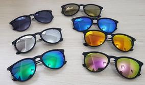d2071e5f5 Óculos De Sol Modelo Dubai 4clover Uv400 Espelhados Colors