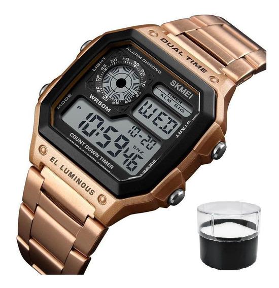 Relógio Skmei 1335 Digital Aço Inoxidável