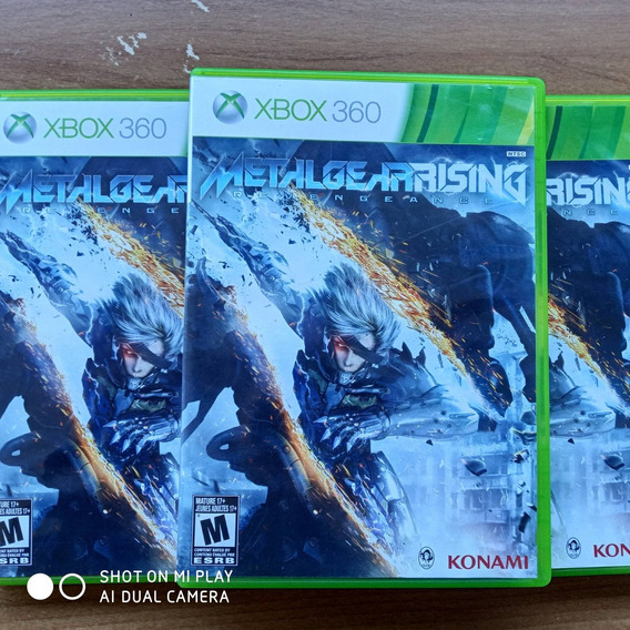 Jogo Xbox 360 Metal Gear Rising Original Física Usado Semino