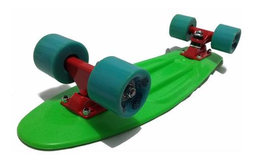 Imagen 1 de 5 de Skate Cruiser De 56cm Retro De Transporte + Regalo