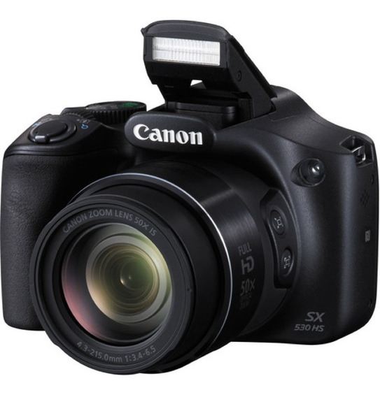 Canon Sx530 Hs 16mp Full Hd 50x Wi-fi Nfc Garantia Oficial- Importadora Fotografica - Distribuidor Mayorista Canon