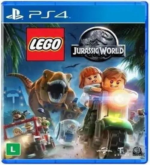 Lego Jurassic World Ps4 Psn Code 1 Pt Br Envio Na Hora!