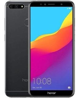 Celular Huawei Honor 7a Dual Preto Lte 5.7 3gb 32gb + Nf
