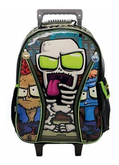Mochila Zombie Infection 18 Pulgadas Con Carro Original 2019