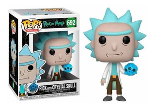 Funko Pop R&m Rick With Crystal Skull