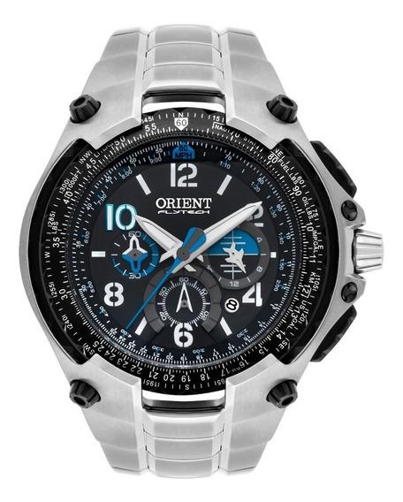 Relógio Orient Flytech Mbttc016 10th Anniversary Titanium