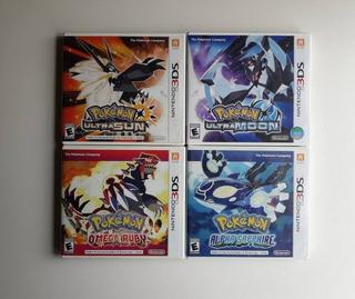 Juegos De 3ds, Pokemon Ultra Sol/luna, Rubi - Tiendatopmk