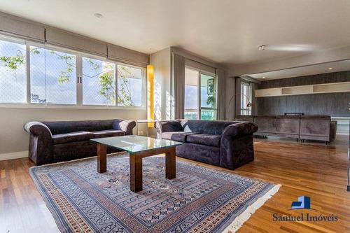 Imagem 1 de 25 de Apartamento Com 3 Dormitórios Para Alugar, 225 M² Por R$ 14.900,00/mês - Moema - São Paulo/sp - Ap3882