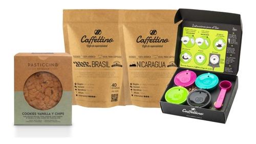 Imagen 1 de 1 de Kit Tentación Dolce Gusto Centroamérica Con Cookies