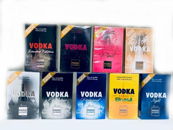 Kit Com 10 Perfumes Paris Elysees - Original - Lacrado