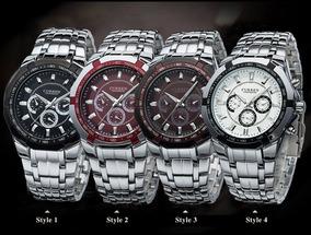 Relógio Sport Fino Masculino Original Preto Curren
