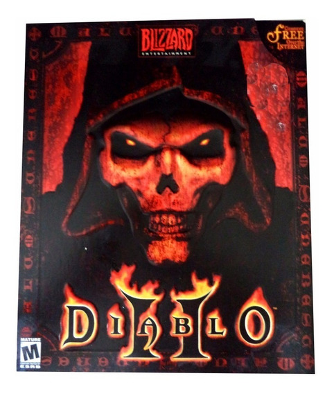 Pc Game Diablo Ii Com Caixa Box Original Battle Net Raro