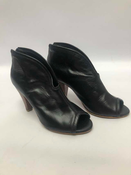 Botas Sin Puntera Zapatos Mujer Sexi Lucerna N.36