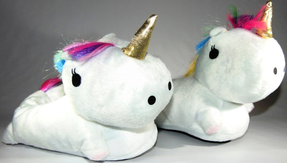 Pantuflas Unicornio Con Luz Leds Mira El Video !!!! 24/40