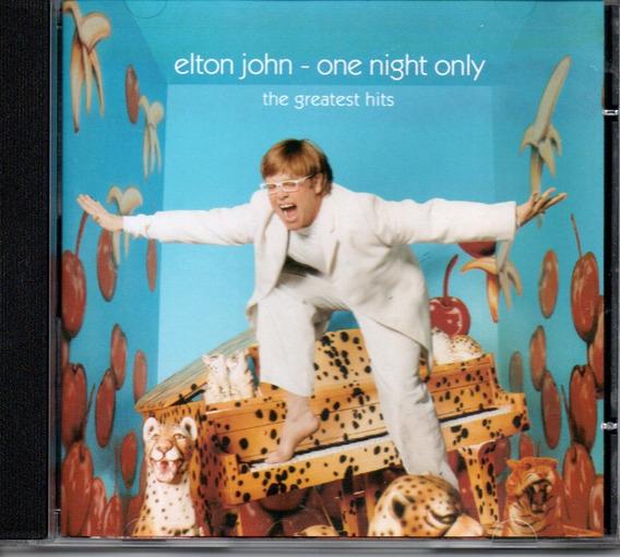 Cd Elton Jonh - One Night Only