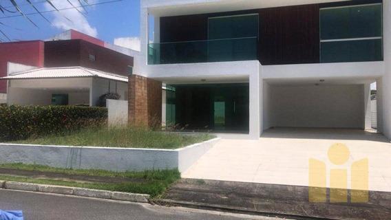 Casa Com 4 Dormitórios À Venda, 330 M² Por R$ 900.000 - Petrópolis - Maceió/al - Ca0341