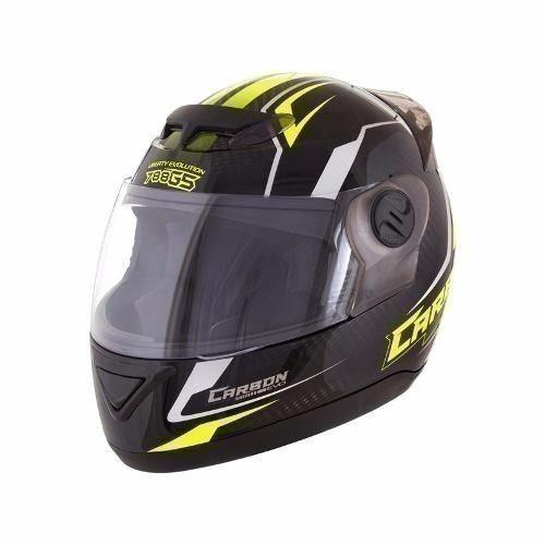 Capacete Moto Preto/amarelo Evolution G5 60 40593