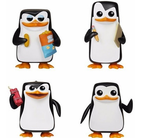Os Pinguins De Madagascar - Funko Pop! Movies