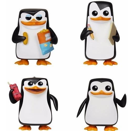 Os Pinguins De Madagascar - Funko Pop! Movies