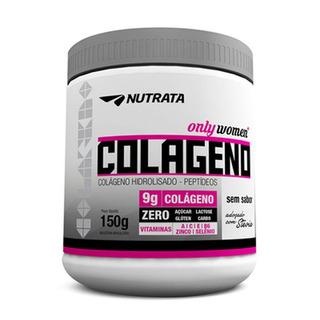 Colágeno Hidrolisado C/ Vitamina B6 + Zinco - 150g - Nutrata
