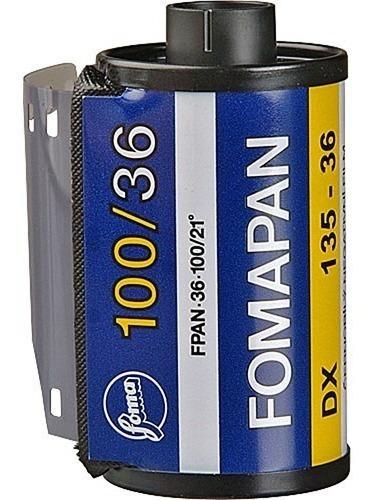 Filme Fomapan 100 Classic 35mm 36 Exp P&b Venc 08/2021