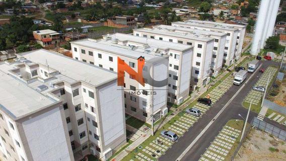 Apartamento Com 2 Dorms, Jardim Palmares, Nova Iguaçu - R$ 133.000,00, 44m² - Codigo: 172 - V172