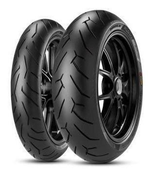 Par Pneus Pirelli Diablo Rosso 2 110/70-17+150/60-17