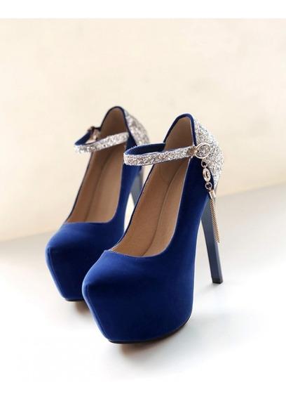 Lindo Sapato Scarpin Feminino Importado - Frete Grátis