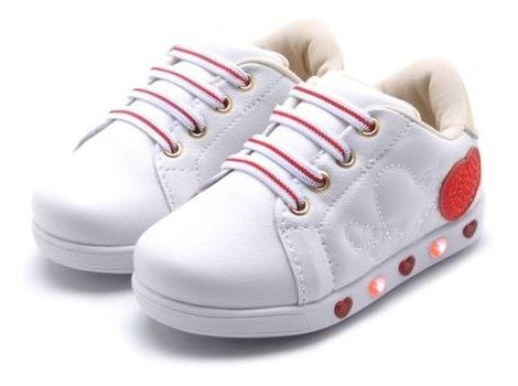 Tênis Infantil Feminino Led Luz Sneaker Pampili 165.080
