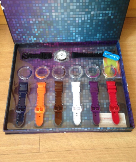 Kit Relógios Coloridos Lindos Mariner