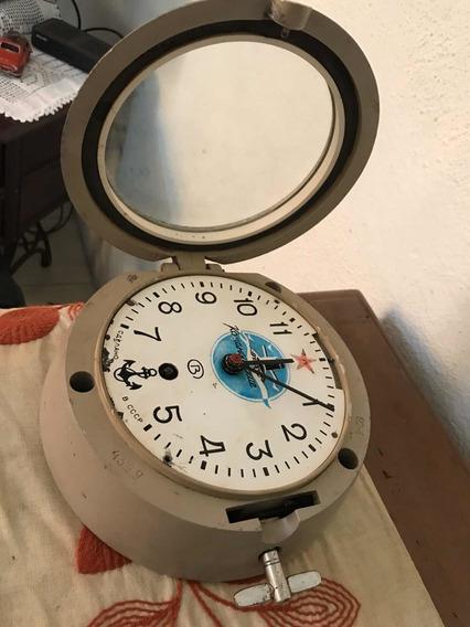 Reloj Antiguo De Barco Submarino Para Revisión